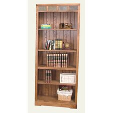 Sedona Open Bookcase in Distressed Oak