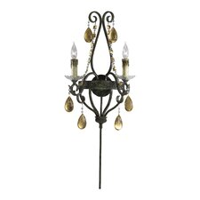 Dorato 2 Light Wall Sconce