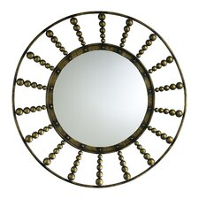 Oliver Mirror in Rustic Gold