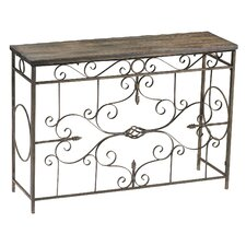Schafer Iron Console Table