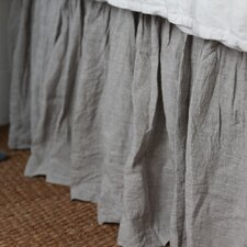 Organic Linen Crib Bed Skirt