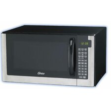 1.4 Cubic Feet Digital Microwave Oven in Stainless Steel