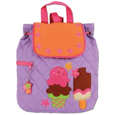 Ice Cream Quilted Backpack