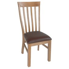 Florence Mia Dining Chair with Leather Seat