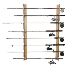 Del Sol Fishing Rod Storage Rack 8 Space