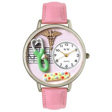 Unisex Nurse Two Watch in Silver