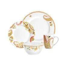 Paisley 4 Piece Place Setting