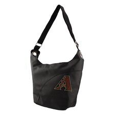 MLB Sport Noir Color Sheen Hobo Purse