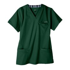 7400 Men's 6-Pocket MedFlex II Top in Treeline Green