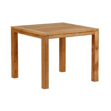 Metzo Teak Square Side Table