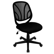 Y-Go Mid-Back Mesh Computer Task Chair