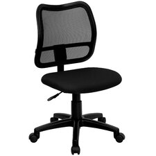 Mid-Back Mesh Task Chair with Cutout