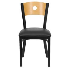 Hercules Series Circle Back Side Chair