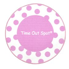 Time Out Spot Polka Dot Kids Rug