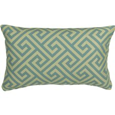 Outdoor Key Prussian Lumbar Pillow