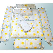 7 Piece Crib Bedding Set