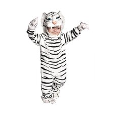 Tiger Costume in White