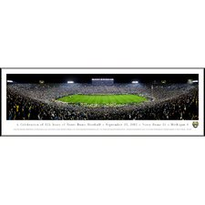 NCAA University of Notre Dame - 125 Night Standard Frame Panorama