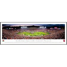 NCAA Rose Bowl Game 2013 Standard Frame Panorama