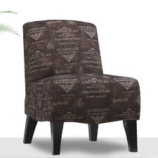 Carrie Fabric Slipper Chair