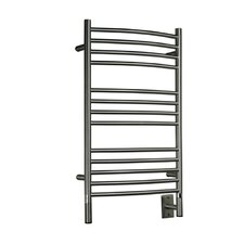 Jeeves Wall Mount Electric C Curved Towel Warmer