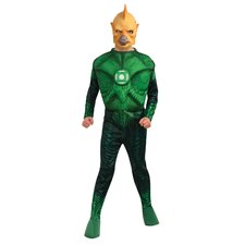Green Lantern Deluxe Muscle Chest Tomar Re Child Costume
