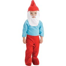The Smurfs Papa Smurf Costume with Headpiece and Romper