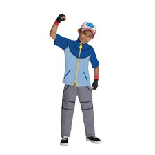 Pokemon Deluxe Ash Costume
