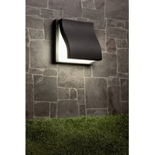 Suma Two Light Outdoor Wall Lamp in Dark Gray