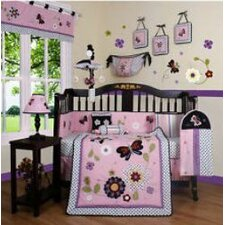 Boutique Daisy Garden 12 Piece Crib Bedding Set