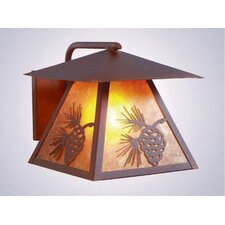 Pinecone 1 Light Outdoor Wall Lantern