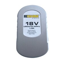 18 Volt Lithium Replacement Battery for GTLI-10 and HTLI-10