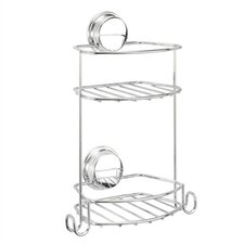 Stick 'N' Lock Compact 2 Tier Storage Basket