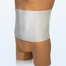 Universal Vel-Foam Abdominal Binder in White