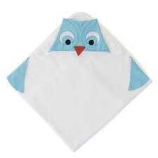 Funny Friends Owl Hooded Towel