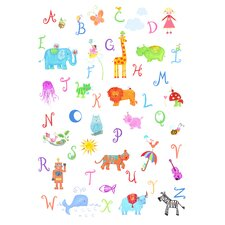 Alphabet Adventure Wall Art