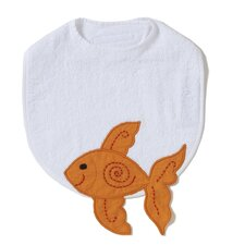 Alphabet Adventure Goldfish Bib