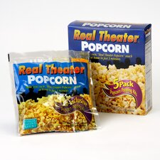 Real Theater Popcorn Popping Kit
