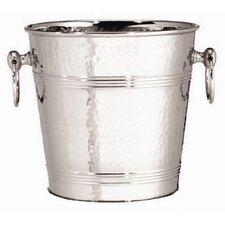 7 Qt. Stainless Steel Wine Bucket in Hammered