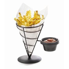 Two Pack Appetizer Cones with Ramekin