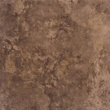 "Bruselas 13"" x 13"" Ceramic Floor Tile in Maroon"
