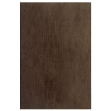 "Aquarelle 18"" x 12"" Ceramic Wall Tile in Sienna Brown"