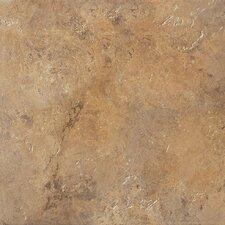 "Aida 18"" x 18"" Field Tile in Brown"