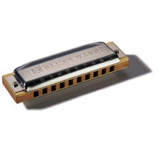Blues Harp MS Harmonica in Chrome - Key of F