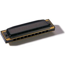 Pro Harp MS Harmonica in Black - Key of F#