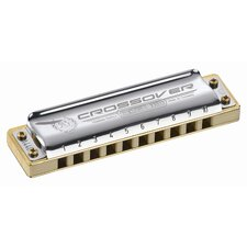 Marine Band Crossover Harmonica in Chrome - Key of F#
