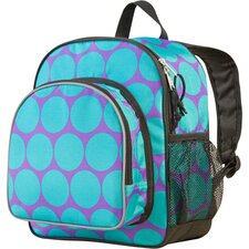 Big Dots Aqua Pack'n Snack Backpack
