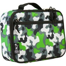 Green Camo Lunch Box