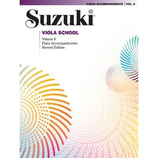 Suzuki Viola School Piano Acc., Volume 6