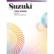 Suzuki Viola School Piano Acc., Volume A (contains Volumes 1 and 2)